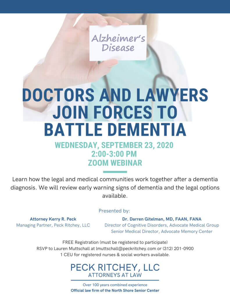 Doctors and Lawyers Join Forces to Battle Dementia
